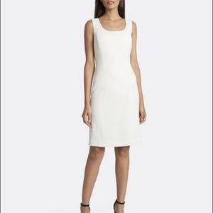 Tahari Scoop neck sheath dress Plus size 18 Ivory